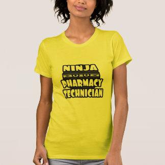 Técnico da farmácia de Ninja Camisetas