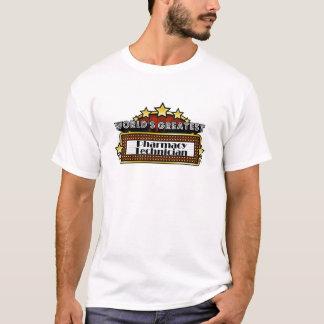 Técnico da farmácia do mundo o grande camiseta