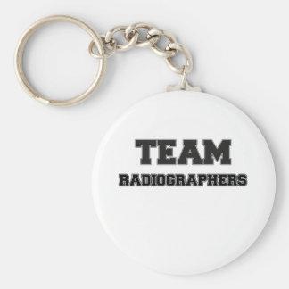 Técnico de radiologia da equipe chaveiros