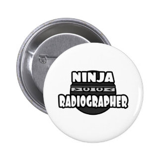 Técnico de radiologia de Ninja Bóton Redondo 5.08cm
