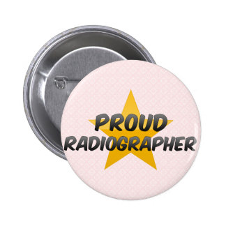 Técnico de radiologia orgulhoso bóton redondo 5.08cm