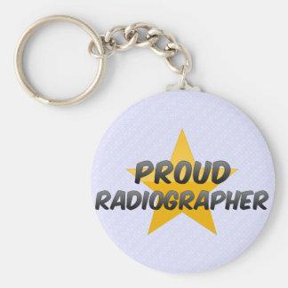 Técnico de radiologia orgulhoso chaveiros
