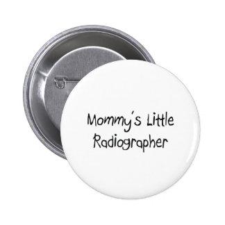 Técnico de radiologia pequeno de Mommys Boton