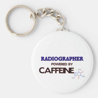 Técnico de radiologia psto pela cafeína chaveiro