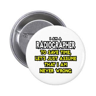 Técnico de radiologia. Supor que eu sou nunca Bóton Redondo 5.08cm