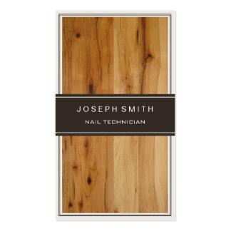 Técnico do prego - textura de madeira à moda