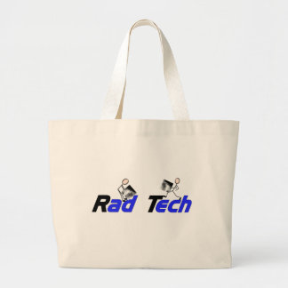 """Técnico do """"presentes da radiologia da tecnologia  bolsas de lona"""