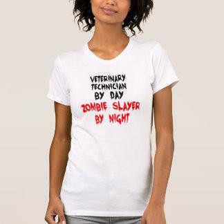 Técnico do veterinário do assassino do zombi tshirt