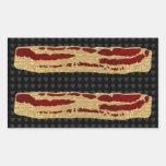 Tecnologia avançada do bacon adesivo em formato retângular