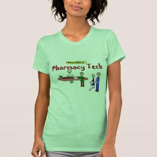 Tecnologia da farmácia com design dos clientes t-shirt