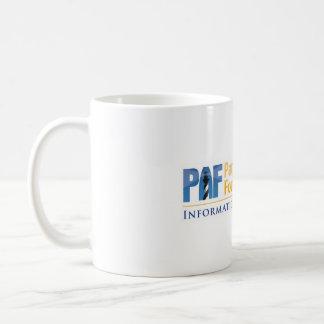 Tecnologia da informação paciente da fundação do caneca de café