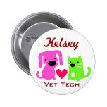 Tecnologia do gato do cão & do veterinário do cora botons