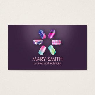 Tecnologia do prego/modelo de cartão de negócios