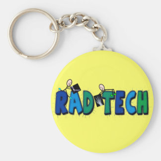 Tecnologia do Rad com design de pessoas e de raios Chaveiro