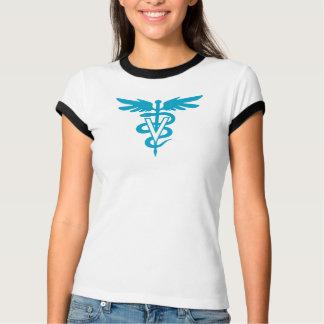Tecnologia do veterinário - símbolo veterinário camiseta