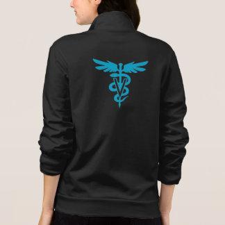 Tecnologia do veterinário - símbolo veterinário jaqueta estampada