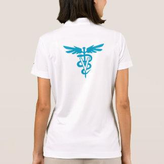 Tecnologia do veterinário - símbolo veterinário camiseta polo