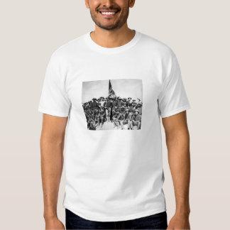 Teddy Roosevelt e Rough Riders T-shirt