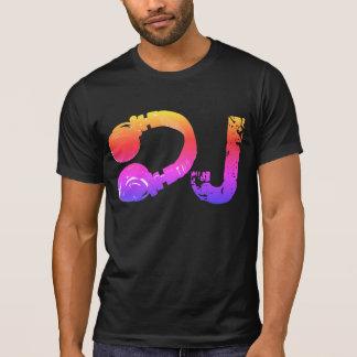tee_stamp legal & colorido para o DJ Camiseta