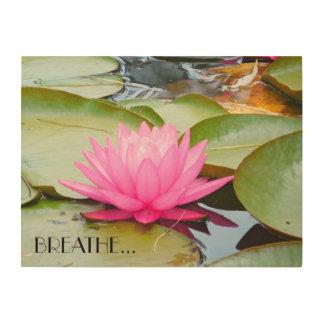 Tela De Madeira Arte de Lotus…