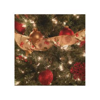 Tela De Madeira Arte de madeira da parede da árvore de Natal