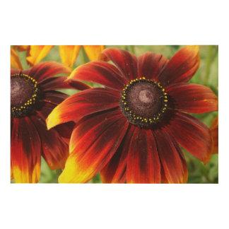 Tela De Madeira Arte de madeira da parede do cm x 61 cm das flores