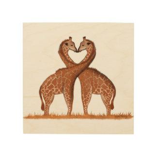 Tela De Madeira Arte de madeira da parede do painel do coração do