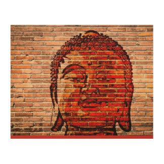Tela De Madeira buddha