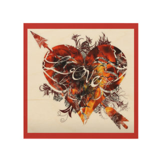 Tela De Madeira Design do amor por Nathan Robert Simonson