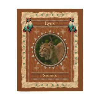 Tela De Madeira Lince - canvas da madeira dos segredos