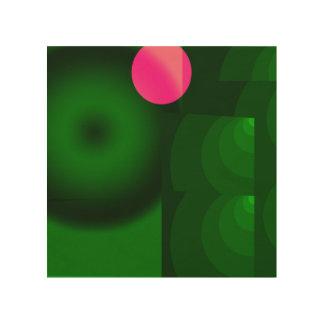 Tela De Madeira ponto cor-de-rosa
