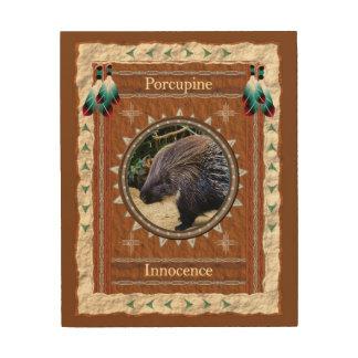 Tela De Madeira Porco- - canvas da madeira da inocência
