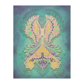 Tela De Madeira Renascido - luz, bohemian, espiritualidade