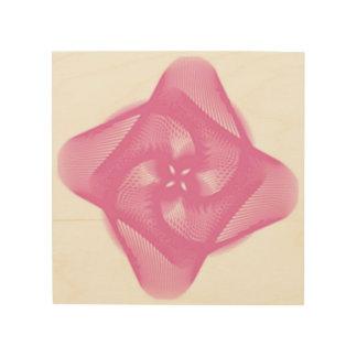 Tela De Madeira rosa
