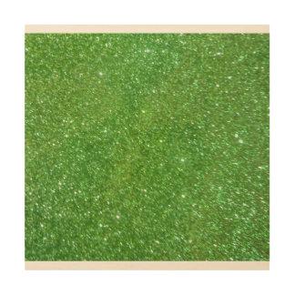 Tela De Madeira Textura verde do abstrato do brilho