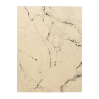 Tela De Madeira Vício de mármore