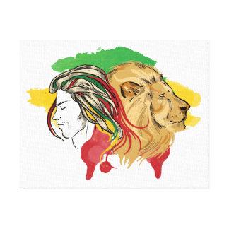 """Tela """"desperto o leão que sommeille nvocê """""""