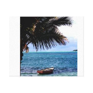 tela ilha paradisíaca impressão em tela