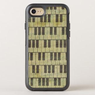 Telefone chave Otterbox do iPhone 6/6s da música Capa Para iPhone 7 OtterBox Symmetry