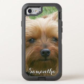 Telefone de Otterbox do yorkshire terrier Capa Para iPhone 8/7 OtterBox Defender