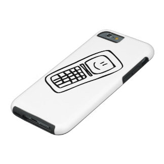 Telefone engraçado capa tough para iPhone 6