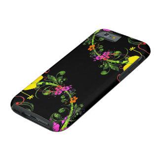 Telefone floral - capa de telefone capa tough para iPhone 6