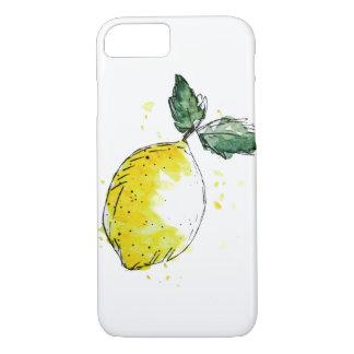 Telefone portátil capa - limão