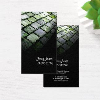 Telhado, cartões de visitas da foto