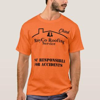Telhado de RoyCo - camisa do trabalho de República