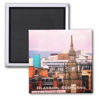 Telhados de Glasgow, Scotland, imã de geladeira