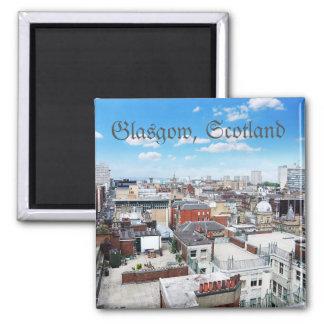 Telhados de Glasgow, Scotland Ímã Quadrado