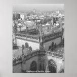 Telhados de Sevilha, telhados de Sevilha, espanha Posters