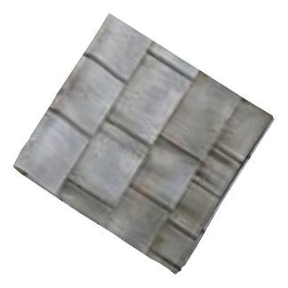 Telhas cinzentas lenço