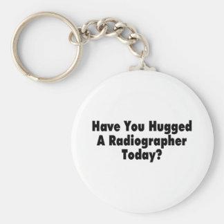 Tem você abraçado um técnico de radiologia hoje chaveiro